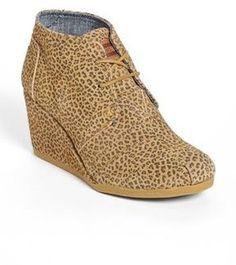 TOMS 'Desert - Cheetah' love mine :)