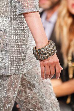 Oscar de la Renta Spring 2013 #ss13 #nyfw #jewelry