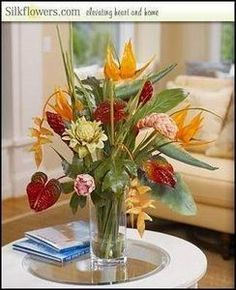 How to Arrange Silk Flowers in a Vase
