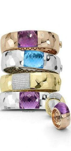 Bangles and rings | LBV ♥✤ | BeStayBeautiful