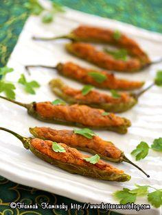 sweet potato pepper boats