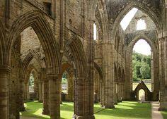 Tintern Abbey by haberlea on Flickr.