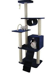 Armarkat Cat Tree Model A7101, Navy Blue $108.95