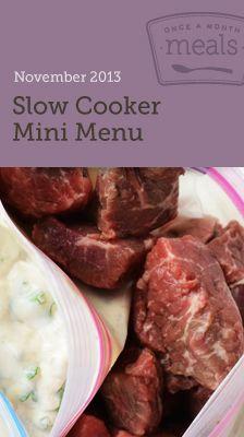 Slow Cooker Mini November 2013