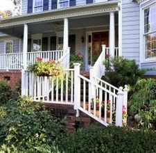 Different Styles of Front Porches By Dawn Sutton [click photo]