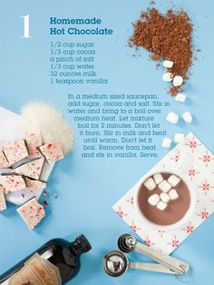 almond milk, winter drinks, birthday parties, cocoa, homemad hot, coconut milk, hot chocolate recipes, home made, christma