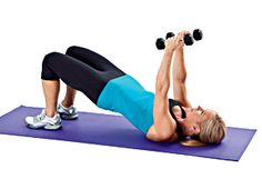5-minute workouts to blast back fat, bra rolls, and muffin top in just 2 weeks! #workout
