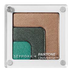 SEPHORA+PANTONE UNIVERSE Color Theory Shadow Block - Eclipsed $26USD #SephoraPantone #Emerald #ColoroftheYear and tag @Pantone Color