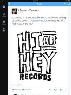 Hi or Hey Records!!!!