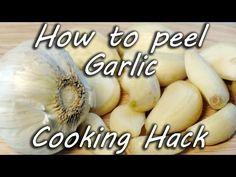 How to Peel Garlic -