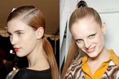 Fall 2012 Hair Trends for Women