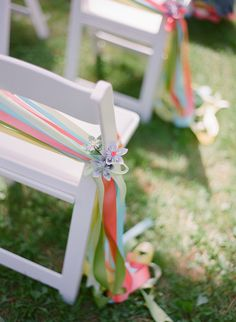 Chairs decor on pinterest museum wedding wedding aisles and tulle