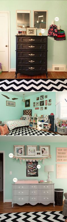 mint toddler room