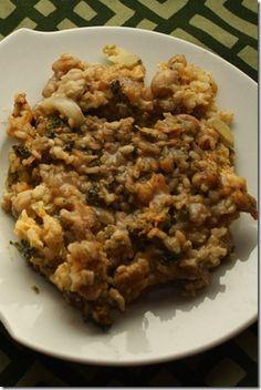 Broccoli and Mushroom Casserole