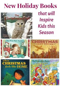 5 wonderful books that inspire the ideas of helping others and creating new traditions this holiday!