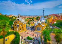 from Barcelona with color
