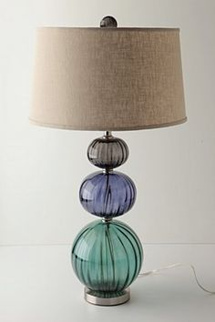 Anthropologie cooled globes lamp -