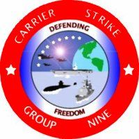 Carrier Strike Group Nine 3rd Fleet Window Murals.Navy ship murals designed to fit your pickup or car.