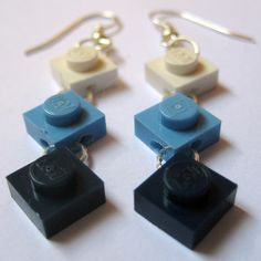 DIY lego earrings