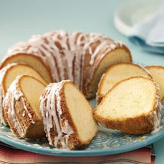 Vanilla Ring Cake Recipe from Taste of Home