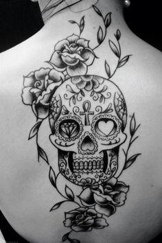 I want a sugar skull tattoo!!