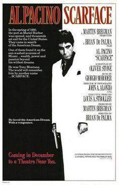 Scarface - uno de mis posters favoritos.