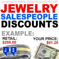 ► ► Jewelry Store Salespeople Jewelry Discounts!