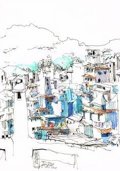 Urban Sketchers Spain.