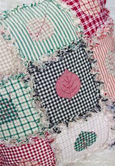 Вечерние посиделки: Потрепанный квилт / Rag quilt sew, tutorial patchwork, rag quilt, quilts, вечерние посиделки, de patchwork