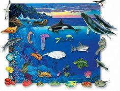 Ocean Felt Board {code: OnePlus for 15% off}
