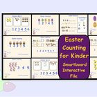 This is a Smart Notebook 11 file.  There are 10 interactive pages in this file to help kindergarten with counting, adding, subtracting and extendin...