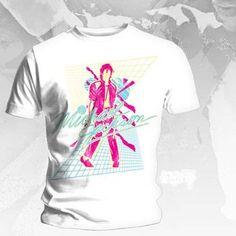 "Michael Jackson - White ""Beat It"" T-Shirt."