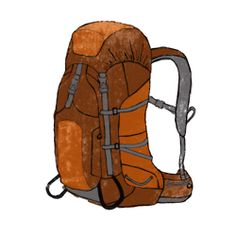 How to pack a backpack  -Heavy items nearest to your back  -Lighter items outside  -Sleeping bag on the bottom  -Rain jacket/map/snacks on top pouch  -Clothes/sleeping pad in middle  -Food/cooking equipment on top  -Camera/knife belt pocket  Can anyone guess what the map is of on the top?