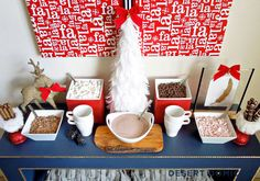 Hot Cocoa Bar Ideas