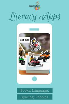 New iPad Literacy and Book Apps for Kids