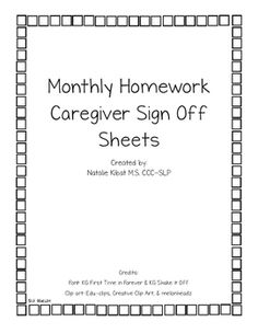 homework in sign language