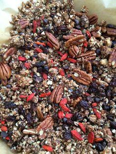 Dark Chocolate Coconut Granola Recipe