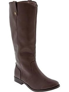WISH LIST: Old Navy Womens Tall Riding Boots
