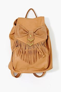 Sweet Fringe Backpack