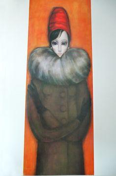Vintage art : Margaret Keane