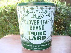 antique lard tins - Google Search