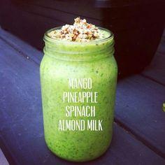 Yum! We suggest Unsweetened Almond Breeze.