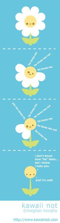 Kawaii Not - He Loves Me He Loves Me Not