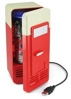 ThinkGeek :: USB LED Beverage Cooler