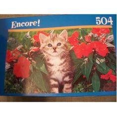 Encore Puzzle Kitten with stripes 500 piece