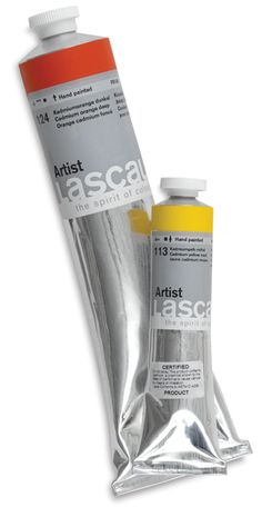 These acrylic paints come in metallic silver and gold!