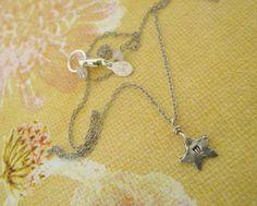 Teeny Tiny Star/ Recycled fine silver star/ wish by DariaDJewelry, $29.00