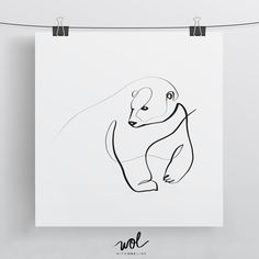 One Line Calligraphy