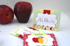 Teacher's Gift Ideas – Back To School Free Printable Cards.