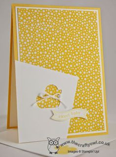 Colour Me...!: CMCC#36 - Colour Me... Monochromatic! Stampin' Up! Baby